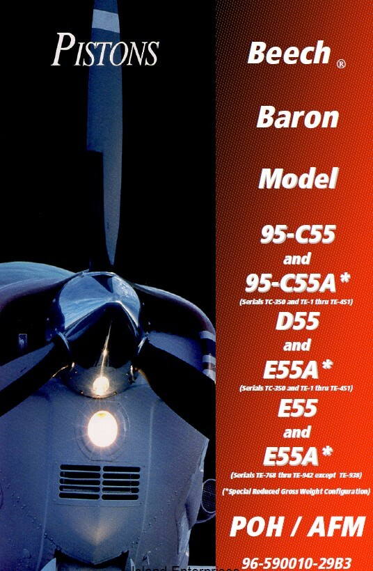 Beechcraft Baron 95-C55 & 95-C55A POH 1983 – 1994