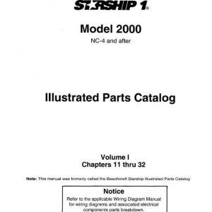 Beechcraft Starship1Illustrated Parts Catalog