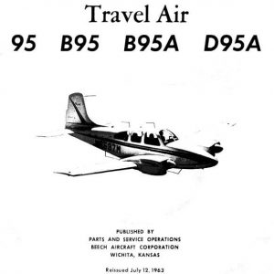 Beechcraft Travel Air MODEL 95 PARTS CATALOG