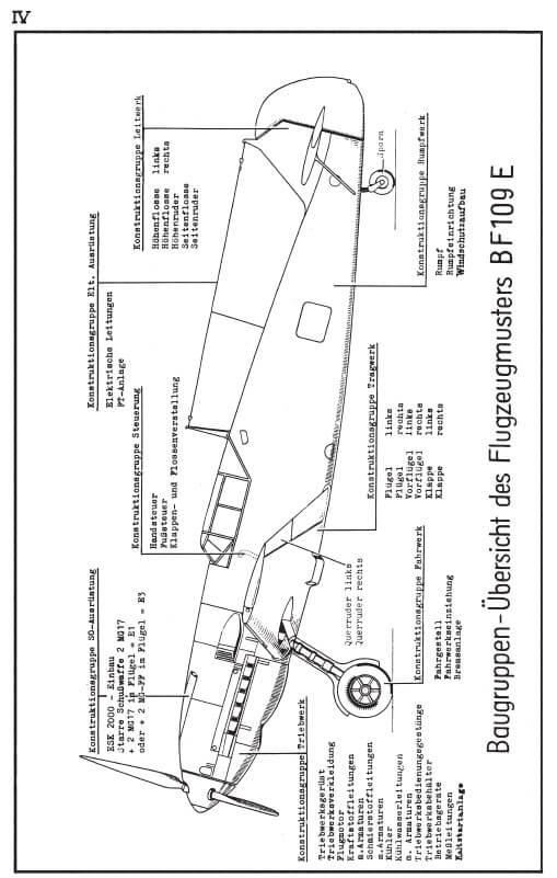 Messerschmitt Ersatzteil-liste BF109E AG Augsburg3