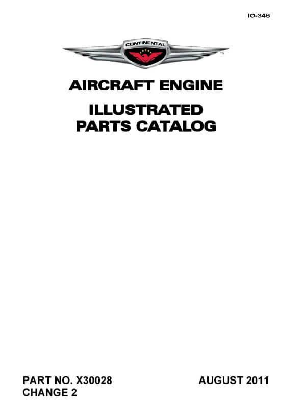 PARTS CATALOG X30028