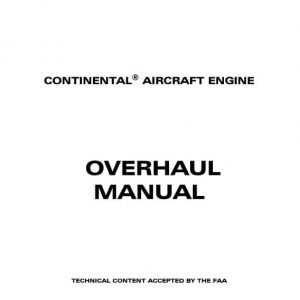Teledyne Continental Aircraft Engine Overhaul Manual IO-470