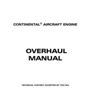 Teledyne Continental Aircraft Engine Overhaul Manual IO-470