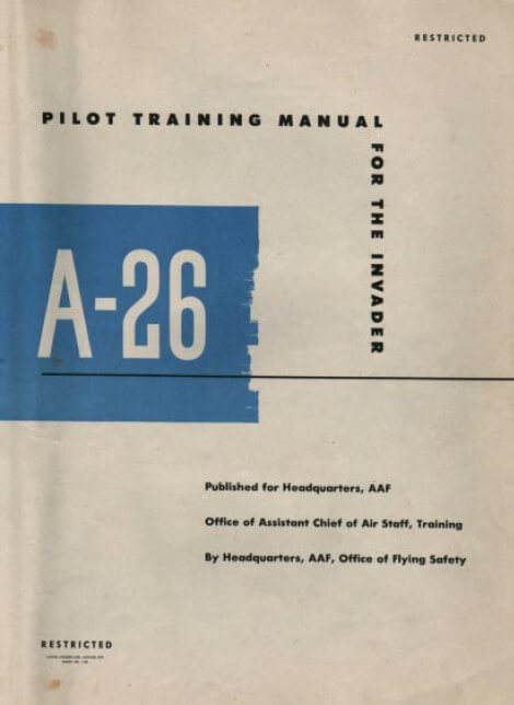 A-26-Invader-Pilot-Training-Manual