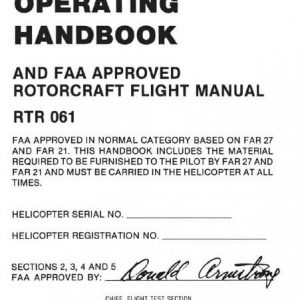 Robinson R22 Pilots Operating Handbook RTR 061