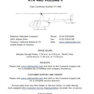 Robinson R44 Illustrated Parts Catalog