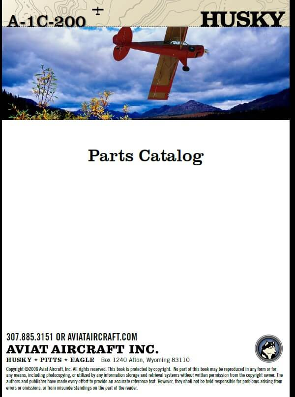 Aviat -A-1C-200 Husky Parts Catalog