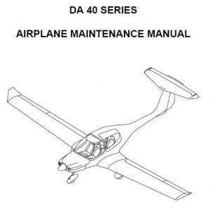 Diamond - DA 40 SERIES AIRPLANE MAINTENANCE MANUAL