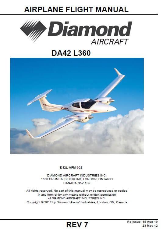 Diamond DA42-L360 Aircraft Flight Manual