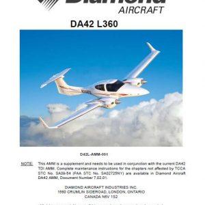 Diamond DA42-L360 Aircraft Maintenance Manual