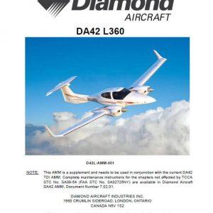 Diamond DA42-L360 Aircraft Maintenance Manual -Incremental Revision